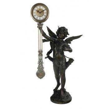 Скульптурные часы восток французская бронза br-3200