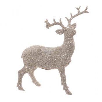 Фигурка декоративная  олень, 24,3х10х30,5см