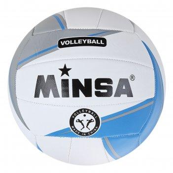 Мяч волейбольный minsa размер 5, 250 гр.