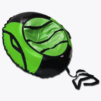 Тюбинг belon familia спорт черно-зеленый 100см св-003-т1/лайм