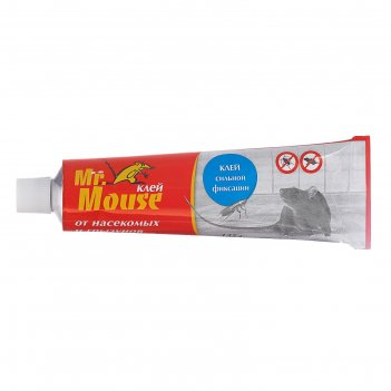 Клей от грызунов mr. mouse 135 гр/60
