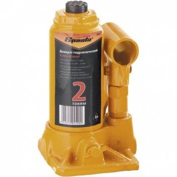 Домкрат гидравлический бутылочный, 2 т, h подъема 148-278 мм sparta