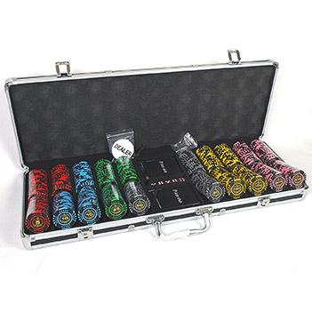 Lux 500 - профессиональный набор для спортивного покера