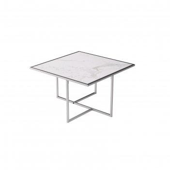 Стол журнальный «лоренцо квадро», 620 x 620 x 375 мм, цвет статуарио