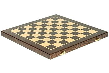 Складной кейс для шахматных фигур woodgame венге 45мм, 45х45см