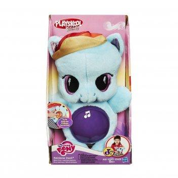 """мягкая пони"" - музыкальная игрушка my little pony"