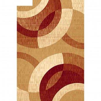 Ковёр карвинг хит-сет kamea 6786, 3*4 м, прямоугольный, beige-red