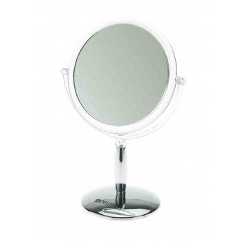 Зеркало настольное dewal на подставке размер 150x95x215мм