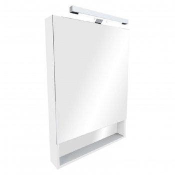 Зеркальный шкаф roca the gap 600 мм, цвет белый