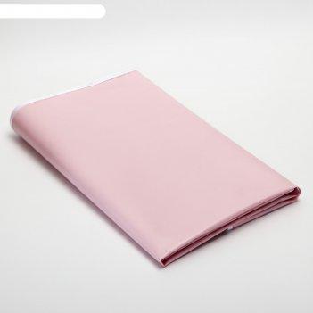 Клеёнка с пвх-покрытием, 68х100 см, на резинке, цвета микс