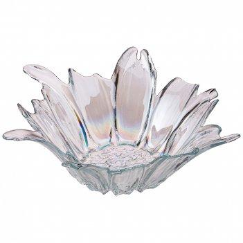 Блюдо глубокое/ваза для фруктов luster beauty rainbow 28см без упаковки (м