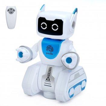 Робот интерактивный, радиоуправляемый «вольт», световые и звуковые эффекты