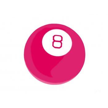 44128 magic 8 ball - шар для принятия решений розовый