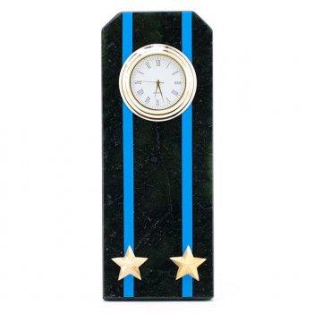 Часы погон подполковник авиации вмф камень змеевик