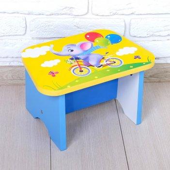 Стул-подставка для умывания детский «слоник»