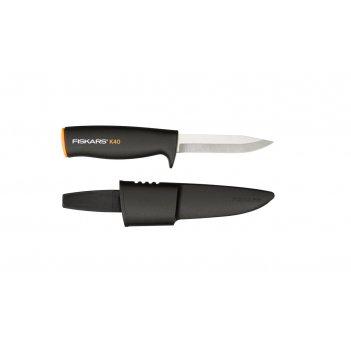 Нож общего назначения в ножнах (вес 69 г, длина 21 см, длина лезвия 10 см)