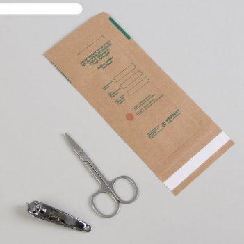 Крафт-пакет для стерилизации, 75 x 150 мм