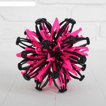 Мяч-трансформер иголка, цвет розовый