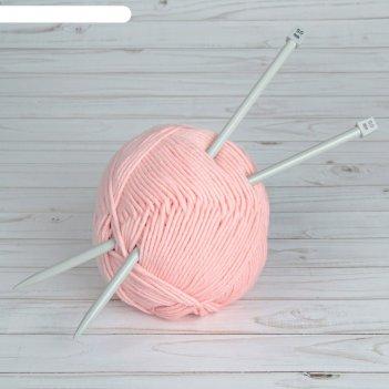 Спицы для вязания, прямые, с тефлоновым покрытием, d = 9 мм, 35 см, 2 шт