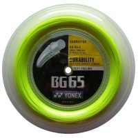 Струна для бадминтона yonex bg65 (200м в уп.) (yellow)