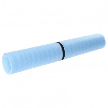Ковер туристичкский  синий+белый 5 мм (0,95 х 1,8)