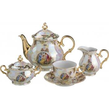 Чайный сервиз на 6 персон 15 пр. мадонна 1200/200 мл