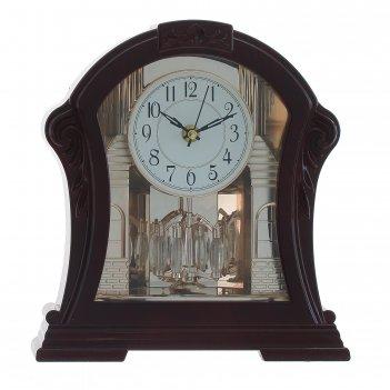 Часы настольные декоративные, l24,5 w9 h26,5 см, (2хаа не прилаг.)