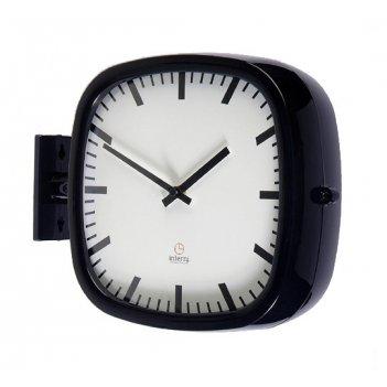 Настенные часы на подвесе b&s p205blk