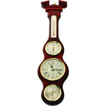 Метеостанция (барометр),часы, барометр, гигрометр, термометр