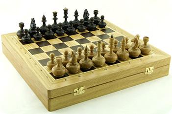 Шахматы woodgame дуб, 44х44см