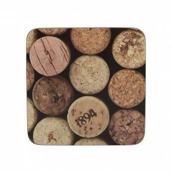 Creative tops набор из 6 подставок cork 23x30