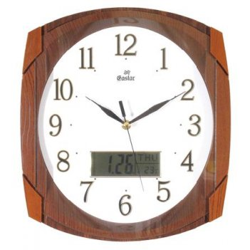 Настенные часы gastar t 531 ji sp (пластик, время вслух)