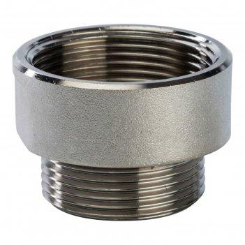 Переходник stout ft-0008-112114, никелированный, внутренняя/наружная резьб