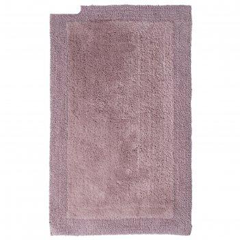 Коврик для ванной комнаты amy, цвет бежевый/коричневый, 60х100 см