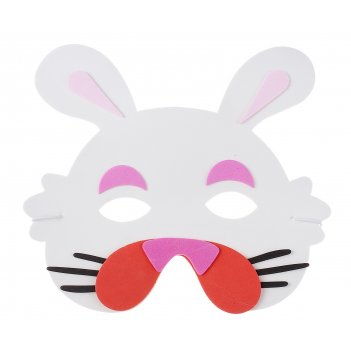 Карнавальная маска зайка