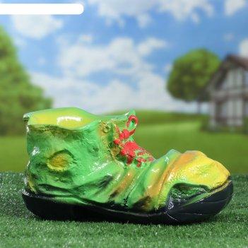 Садовая фигура ботинок №2