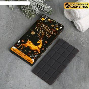Мыло-шоколад с новым годом