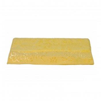 Полотенце dora, размер 50 x 90, жёлтый