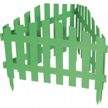 Забор декоративный марокко 28 x 300 см, зеленый россия palisad