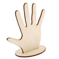 Заготовка для творчества подставка для бижутерии и пальч.кукол 15х20х7см (