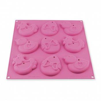 Форма для приготовления печенья my easter cookies, материал: силикон, цвет
