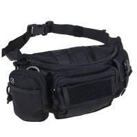 Сумка поясная waist bag black bp-12-bk