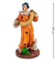 Ws-675 статуэтка клоун с гармошкой