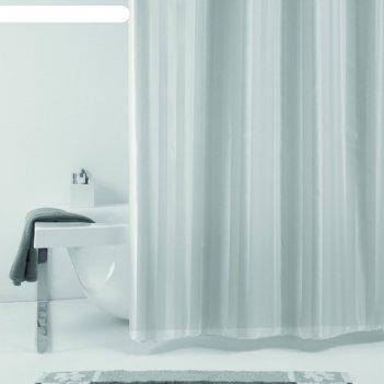 Штора для ванной rigone, 180х200 см, серый