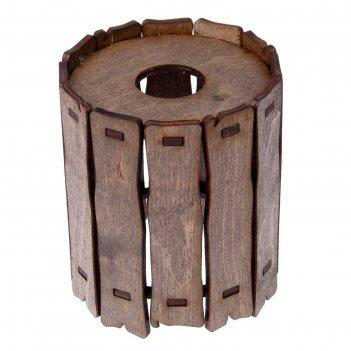Плафон деревянный заборчик