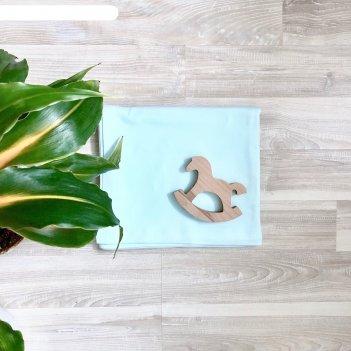 Пелёнка, размер 105 x 120 см, принт heaven swaddle