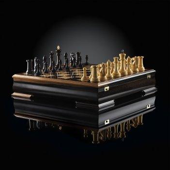 Шахматы стаунтон люкс (макассар/самшит), kadun 51х51