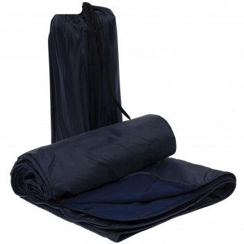 Плед для пикника kveld, размер 130x140 см, цвет тёмно-синий