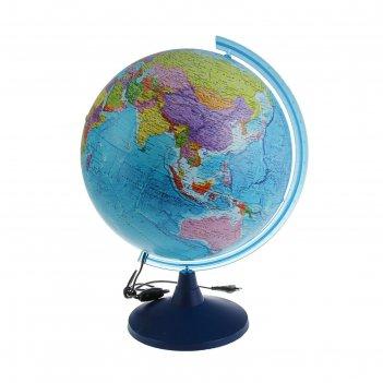 Глoбус политический «классик евро», диаметр 400 мм, с подсветкой
