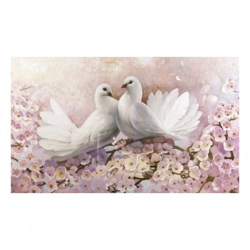 Картина на холсте красота птиц